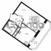Продается квартира 1-ком 35.37 м² улица Шувалова 1, метро Девяткино