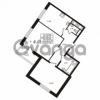 Продается квартира 2-ком 60.08 м² улица Шувалова 1, метро Девяткино