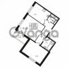Продается квартира 2-ком 59.58 м² улица Шувалова 1, метро Девяткино