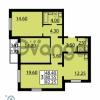 Продается квартира 3-ком 82.25 м² Витебский проспект 101к 4, метро Купчино