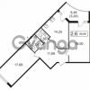 Продается квартира 2-ком 69.89 м² улица Токарева 13к 3, метро Старая деревня
