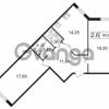 Продается квартира 2-ком 66.65 м² улица Токарева 13к 3, метро Старая деревня