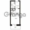 Продается квартира 1-ком 23.27 м² Школьная улица 7к 2, метро Купчино