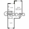 Продается квартира 1-ком 53.3 м² улица Токарева 13к 3, метро Старая деревня