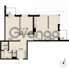 Продается квартира 3-ком 87.45 м² Саперная улица 53, метро Купчино
