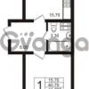 Продается квартира 1-ком 41.7 м² Школьная 6, метро Проспект Просвещения
