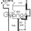 Продается квартира 2-ком 64 м² Рыбацкий проспект 18к А, метро Рыбацкое