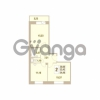 Продается квартира 2-ком 54.4 м² Областная улица 1, метро Улица Дыбенко
