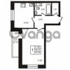 Продается квартира 1-ком 39 м² улица Кирова 11, метро Улица Дыбенко