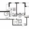 Продается квартира 3-ком 86.32 м² Берёзовая улица 1, метро Проспект Просвещения