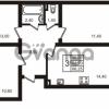 Продается квартира 3-ком 66.25 м² Выборгское шоссе 1, метро Пропект Просвещения