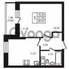 Продается квартира 1-ком 37 м² улица Кирова 11, метро Улица Дыбенко