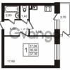 Продается квартира 1-ком 37.35 м² Выборгское шоссе 1, метро Пропект Просвещения