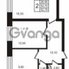 Продается квартира 2-ком 52.7 м² Выборгское шоссе 1, метро Пропект Просвещения