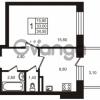 Продается квартира 1-ком 34.55 м² Выборгское шоссе 1, метро Пропект Просвещения