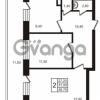 Продается квартира 2-ком 56.75 м² Выборгское шоссе 1, метро Пропект Просвещения