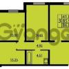 Продается квартира 3-ком 86 м² проспект Маршала Блюхера 12Б, метро Лесная