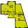 Продается квартира 3-ком 88 м² проспект Маршала Блюхера 12Б, метро Лесная