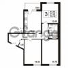 Продается квартира 3-ком 79.15 м² Берёзовая улица 1, метро Проспект Просвещения