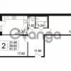 Продается квартира 2-ком 61.31 м² Берёзовая улица 1, метро Проспект Просвещения