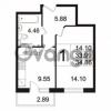 Продается квартира 1-ком 34.86 м² Берёзовая улица 1, метро Проспект Просвещения