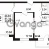 Продается квартира 2-ком 52.03 м² Берёзовая улица 1, метро Проспект Просвещения