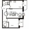Продается квартира 2-ком 51 м² Воронцовский бульвар 1, метро Девяткино