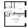 Продается квартира 1-ком 36.75 м² Пугаревская улица 1, метро Ладожская