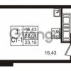 Продается квартира 1-ком 23 м² Воронцовский бульвар 1, метро Девяткино