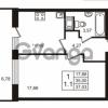 Продается квартира 1-ком 37 м² Воронцовский бульвар 1, метро Девяткино