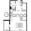 Продается квартира 1-ком 51.65 м² набережная Обводного канала 108, метро Фрунзенская