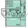 Продается квартира 2-ком 65.96 м² Ленинградское шоссе 11, метро Проспект Ветеранов