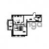 Продается квартира 1-ком 46.15 м² проспект Энгельса 2, метро Черная Речка