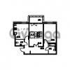 Продается квартира 2-ком 71.61 м² проспект Энгельса 2, метро Черная Речка