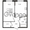 Продается квартира 1-ком 33 м² Берёзовая улица 1, метро Проспект Просвещения