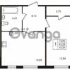 Продается квартира 1-ком 43 м² Берёзовая улица 1, метро Проспект Просвещения