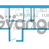 Продается квартира 1-ком 46 м² бульвар Александра Грина 1, метро Приморская