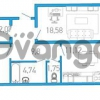 Продается квартира 2-ком 67 м² бульвар Александра Грина 1, метро Приморская