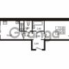 Продается квартира 1-ком 39.3 м² проспект Авиаторов Балтики 1, метро Девяткино