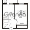 Продается квартира 1-ком 32.87 м² Арсенальная улица 4, метро Девяткино
