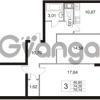 Продается квартира 3-ком 75.14 м² Арсенальная улица 4, метро Девяткино
