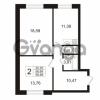 Продается квартира 2-ком 58.69 м² Арсенальная улица 7, метро Девяткино