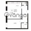 Продается квартира 1-ком 59.79 м² улица Сургина 14А, метро Старая деревня