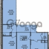 Продается квартира 3-ком 81 м² улица Шкапина 36, метро Балтийская