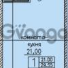 Продается квартира 1-ком 30 м² улица Шкапина 36, метро Балтийская