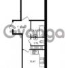 Продается квартира 1-ком 39 м² Заречная улица 1, метро Парнас
