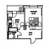 Продается квартира 1-ком 38.87 м² Юнтоловский проспект 53к 4, метро Старая деревня