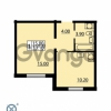 Продается квартира 1-ком 33 м² Южное шоссе 110, метро Международная