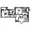 Продается квартира 2-ком 54.48 м² Юнтоловский проспект 53к 4, метро Старая деревня