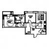 Продается квартира 2-ком 55.18 м² Юнтоловский проспект 53к 4, метро Старая деревня